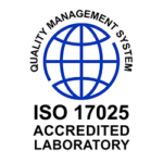 ISO 17025 logo highlighting that Valens is an accredited lab