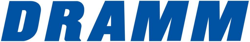 Draam blue text logo