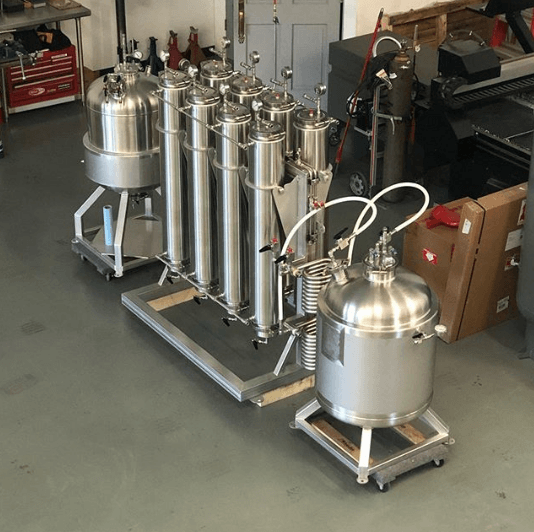 Valens Agritech hydrocarbon extraction equipment by Iron Fist Extractors