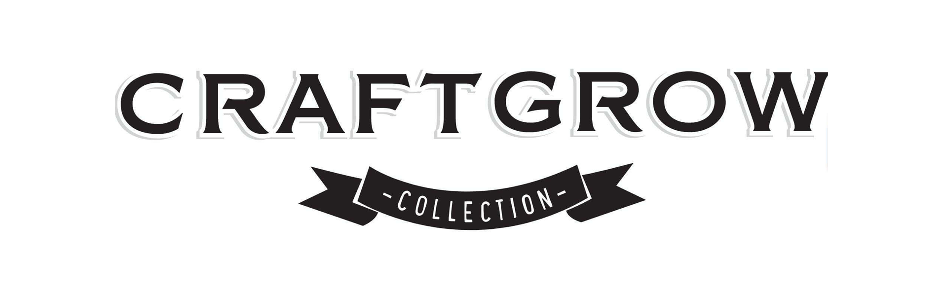 Craftgrow Collection Logo black text