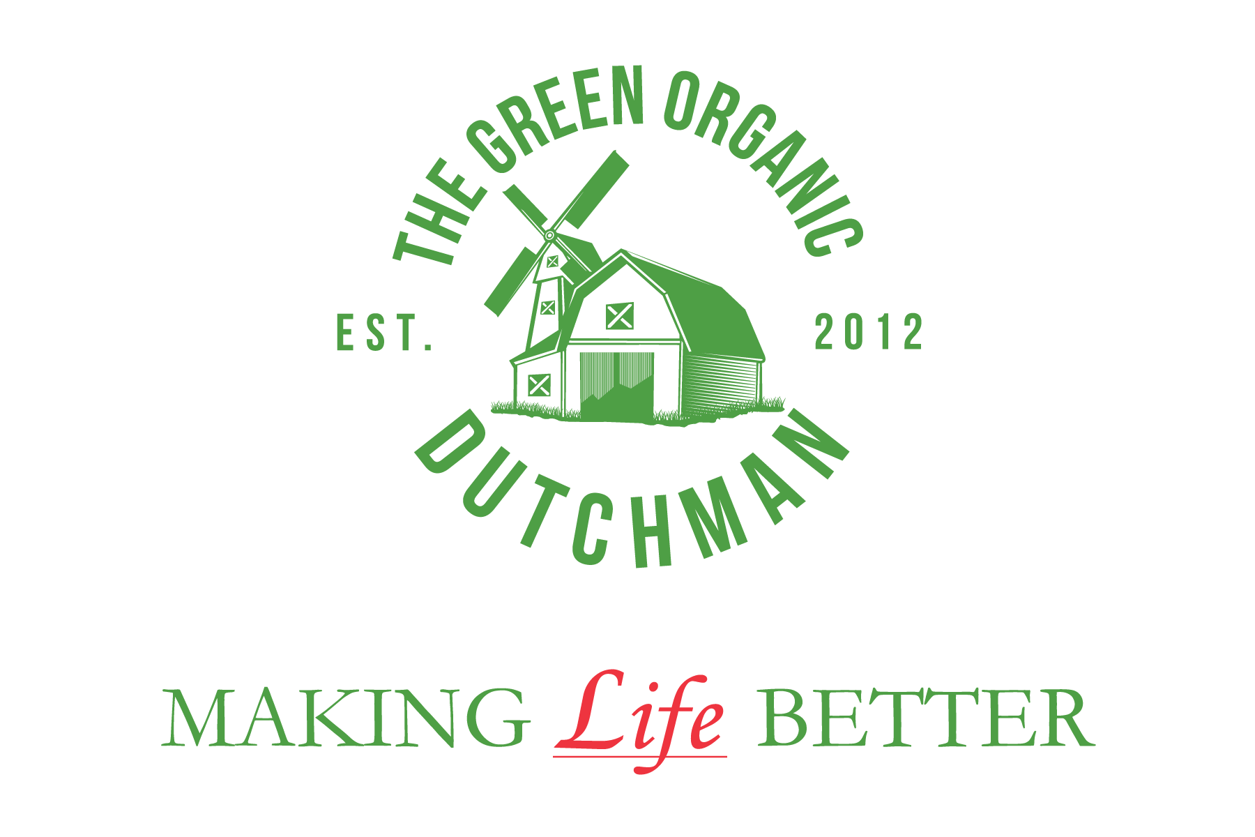 The Green Organic Dutchman Logo