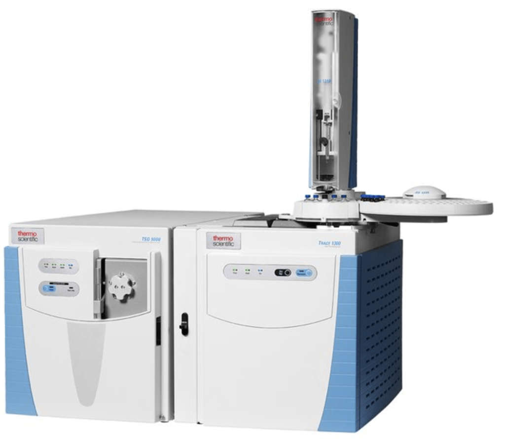 Cannabis testing lab equipment for detecting residual solvents