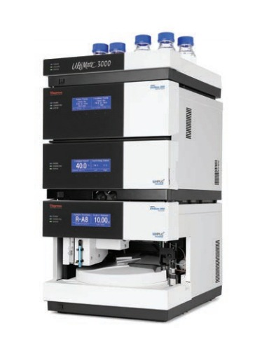 Valens Labs Black Lab Equipment Thermo Scientific UltiMate HPLC System for cannabinoid analysis